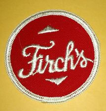 Vintage Firch's Bread Bakery Embroidered Uniform Patch Defunct 2 1/2""