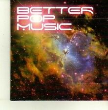 (DE169) Better Pop Music SIC Sampler, 19 tracks various artists - 2009 DJ CD