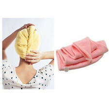 Applied HOT Microfiber Hair Dryer Drying Towel Turban Cap Hat Head Wrap WF01