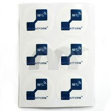 6x NTAG203 30mm NFC Tags stickers for Galaxy S4 S5 & Compatible all others