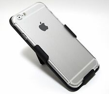 Full Body Cover 360° Armor Clear Case+ BELT CLIP HOLSTER for iPhone 6 6s