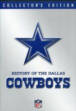 NFL: History of the Dallas Cowboys [Collector's Edit (2008, DVD NIEUW)2 DISC SET