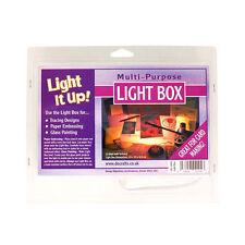 Caja de luz para el papel de calcar Diseño Multi propósito pintura de vidrio embosing LIU1000