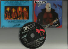 RAZOR - Shotgun justice CD THRASH METAL RARE REISSUE KREATOR DESTRUCTION EXCITER