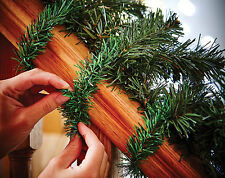 10 CHRISTMAS GARLAND TWIST TIES FOR USE INDOORS OR OUTDOORS - L35.5cm BRAND NEW