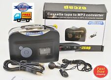 Portable 28Kbps Tape to USB Flash Disk Ezcap230 Cassette to MP3 CD Converter US