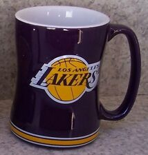 Coffee Mug Sports NBA Los Angeles Lakers NEW 14 ounce cup with gift box