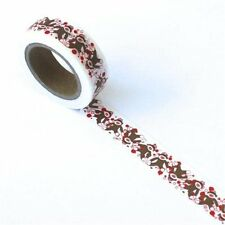 Eyelet Outlet: Sock Monkey Washi Tape, 15mm x 10m, for Crafting, Card Making,etc