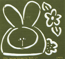 Chubby Bunny - Embossing Template by Lasting Impressions