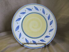 WILLIAMS-SONOMA TOURNESOL DINNER PLATE MADE IN ITALY VERY GOOD CONDITION