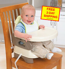 NEW Infant Deluxe Comfort Booster, 2-in-1: Infant Feeding Seat With Tray