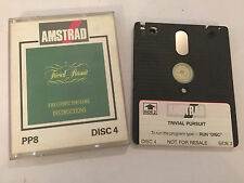 AMSTRAD CPC 464 664 6128 DISC DISK GAME TRIVIAL PURSUIT