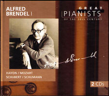 Alfred BRENDEL 1 GREAT PIANISTS OF THE 20TH CENTURY 2CD Haydn Mozart Schubert
