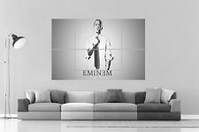 EMINEM BLACK AND WHITE wall Art Poster Great format A0 Wide Print