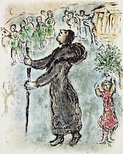 Ulysses Disguised as a Beggar (The Odyessy) 1989, Ltd Ed Litho, Marc Chagall