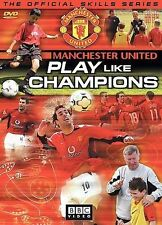 Manchester United Soccer, Play Like Champions, BBC DVD Video