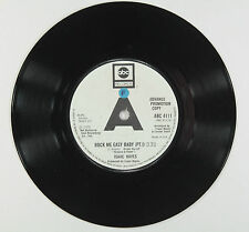 ISAAC HAYES - ROCK ME EASY BABY PT.1 & 2 (UK PROMO)EXCELLENT+ VINYL