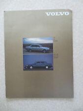 Original 1980s Volvo 240 760 & 740 automobiles advertising brochure