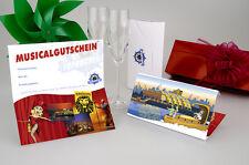 2x PK1 Ticketgutschein + CD-Soundtrack - DER KÖNIG DER LÖWEN Karten / Tickets