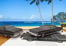 Papercraft 1974 Mercury Marquis T.V. car Hawaii Five-O Paper Car EZU-Build