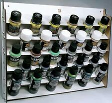 Vallejo Paints & Accessories #VLJ-26009 Wall Mounted Module Paint Display