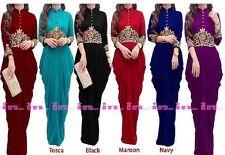 Maxi Evening Dress, Abaya, Kaftan, Jalbab Maroon Colour, EID Sale Sale