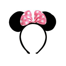 Minnie Mouse Ears Headband Hen Nights Women Girl Kids Mickey Party Fancy Dress
