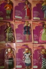 Miss Matchbox Set of 9 Dolls 1973