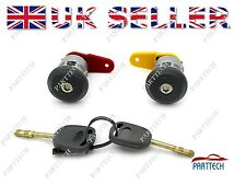 FORD ESCORT COMPLETE DOOR LOCK SET + 2 KEYS FRONT RIGHT and LEFT OSF NSF
