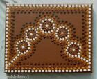 #AB1228. ABORIGINAL ART BY ANGELA BLAKENEY WITH CERTIFICATE OF AUTHENTICITY