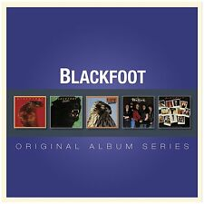 BLACKFOOT Original Album Series 5 x CD 2013 (48 Tracks) NEW & SEALED