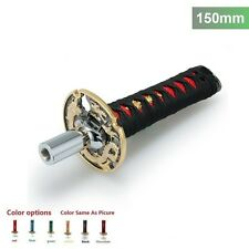 Samurai Sword Shift Knob Shifter 150mm Metal Weighted Sport Katana JDM Universal