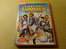 DVD / THE LAST DAY OF SUMMER - DE LAATSTE VAKANTIEDAG ( NICKELODEON FILM )