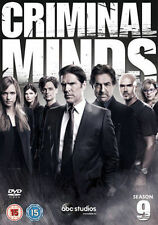 CRIMINAL MINDS COMPLETE SERIES 9 DVD Box Set Season Brand New 9th Nineth UK
