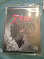GUIDE LEGEND OF ZELDA TWILIGHT PRINCESS GAME CUBE SOUS BLISTER RIGIDE NEUF NEW