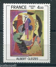 FRANCE 1981, timbre 2137, TABLEAU GLEIZES, neuf**, PAINTING, VF MNH STAMP