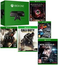 Microsoft Certified Xbox One 500GB Gaming Console MATTE BLACK - 5 GAME BUNDLE