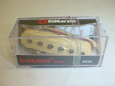 DIMARZIO ISCV2 Evolution Single Coil MIDDLE Electric Guitar Pickup - CREAM