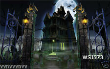 Halloween Thin Vinyl backdrop photo prop CP photography background 7X5FT WSJ573