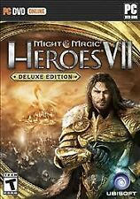 MIGHT & MAGIC HEROES VII DELUXE EDITION (2 DISC) PC STRATEGY NEW VIDEO GAME