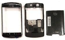 Blackberry Storm 9530 Movistar Middle And Front Housing Black Metalic
