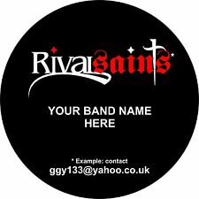 Custom Bass Drum / Band Logo / Graphic / Decal / Sticker