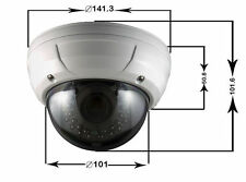 OUTDOOR CCTV Security Camera 1080P Varifocal HD TVI 3 Mega Pixel Lens Zoom Focus