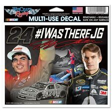 "2015 JEFF GORDON #24 #I WAS THERE JG NASCAR 6"" X 4"" MULTI-USE DECAL"