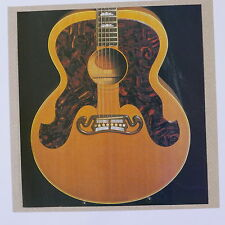 POP-CARD feat. GIBSON J-200 GUITAR DETAIL , 15x15cm greeting card aav