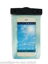 Wasserdichte Smartphone Handy Hülle Schutzhülle Tasche transparent NEU