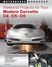 Weekend Projects for Your Modern Corvette Book~C4~C5~C6~BRAND NEW!