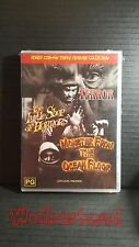Roger Corman Triple Feature Terror, Shop of Horror, Monster Ocea[ DVD ] Region 4