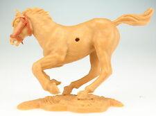 TIMPO TOYS - Pferd - galoppierend - beige - Zaumzeug braun -- Horse