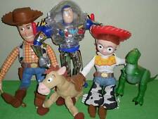"Toy Story Pull String Talking 16"" Woody Jessie Buzz Lightyear 12"" Lot"